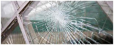Southfields Smashed Glass